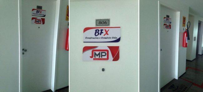 Sede da BFX Construções e Comércio