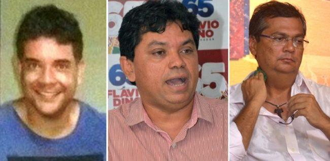 Empresário Pedro Aquino, secretário Márcio Jerry e o governador Flávio Dino