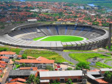 Estádio Castelão foi um das grandes obras construídas por João Castelo