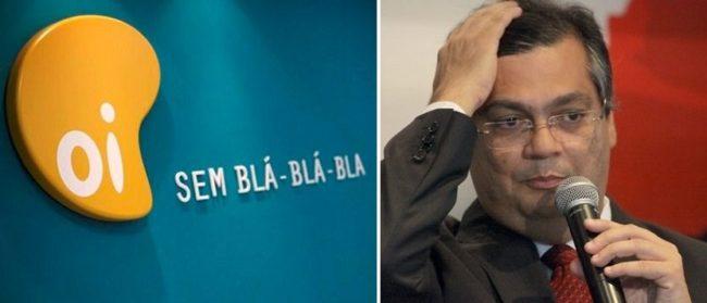 Governador Flávio Dino gasta milhões com a empresa OI
