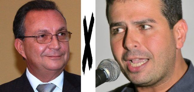 Luis Fernando e Gil Cutrim em pé de guerra