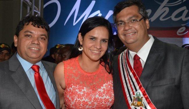 Márcio Jerry, Lene Rodrigues e Flávio Dino