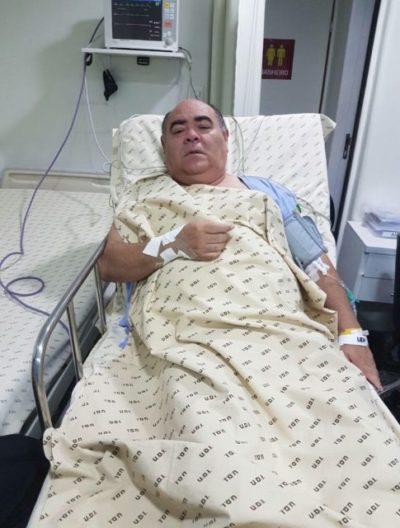 Vereador Astro de Ogum hospitalizado
