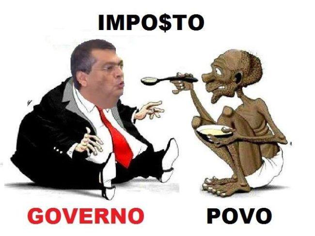 Flávio Dino quer governar o Maranhão tirando dinheiro do povo