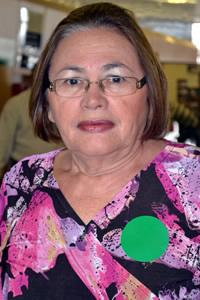 Maria da Luz Bandeira Bezerra Figueiredo, a Daluz,, prefeita de Governador Eugênio Barros