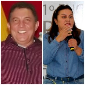 Cleomar Tema e Irlahi Moraes