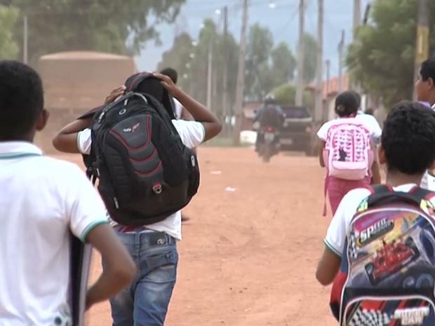 Falta da merenda escolar prejudica alunos em Balsas