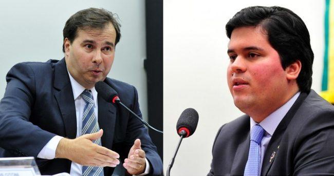 Rodrigo Maia e André Fufuquinha