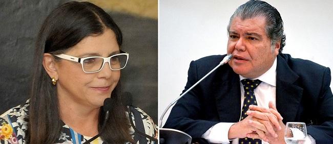 Roseana e o irmão Zequinha Sarney querem disputar vaga ao Senado