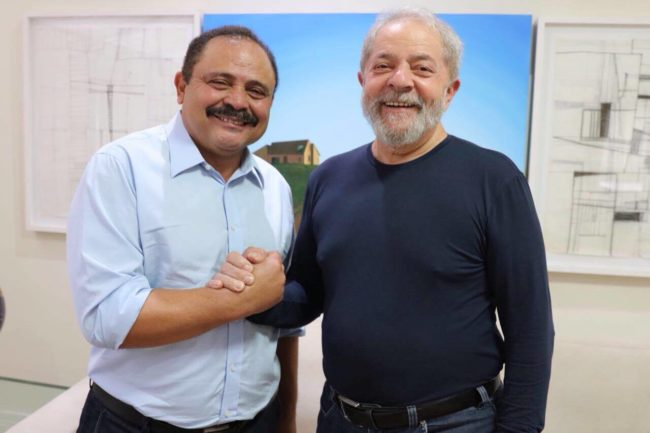 Apoio chancelado: Waldir Maranhão e Lula em recente encontro