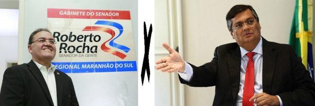 Aliados em 2014, Roberto Rocha e Flávio Dino vão se enfrentar em 2018