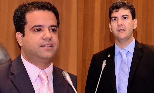 Deputados Edilázio Júnior e Eduardo Braide
