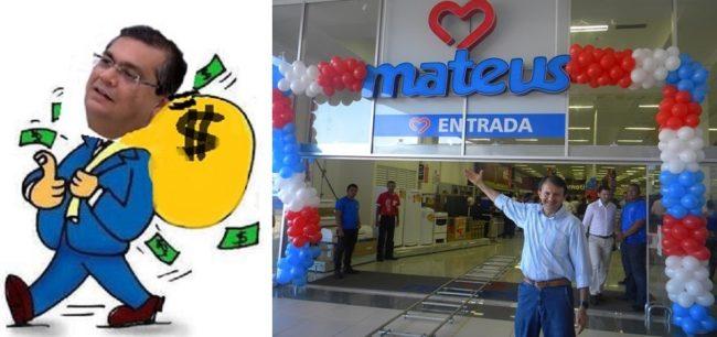 Governador Flávio Dino é questuinado se extorquiu o empresário Ilson Mateus
