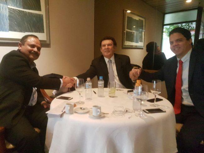 Waldir Maranhão, Campos Machado e Luciano Genésio