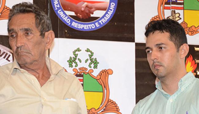 José Alencar e Gláucio Alencar: pai e filho acusados de serem mandantes