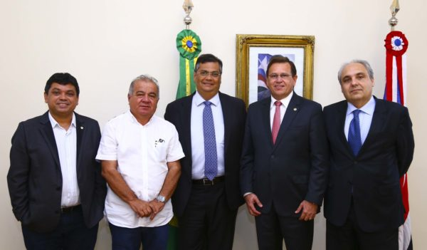 Márcio Jerry, Fufuca, Flávio Dino, Stênio Rezende e Marcelo Tavares