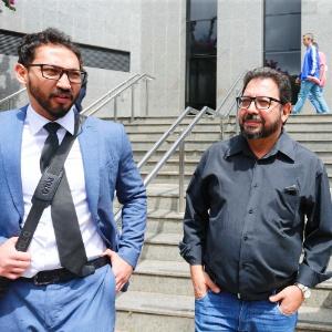 O blogueiro Eduardo Guimarães deixa a PF na terça, após prestar depoimento