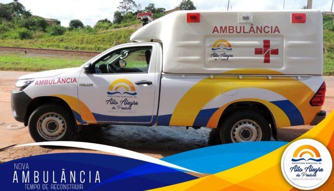Ambulância entregue ao povo de Alto Alegre do Pindaré