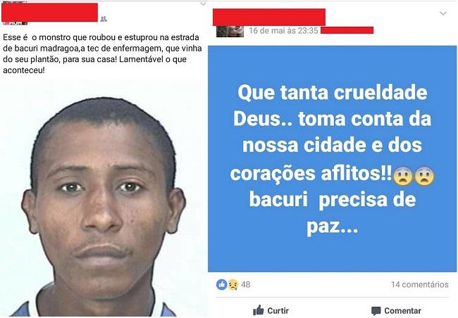 Estuprador morto em Bacuri, interior do Maranhão