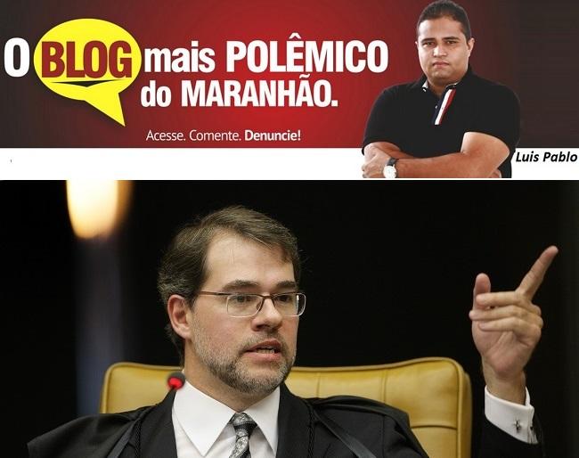 Ministro do STF, Dias Toffoli, não aceita censura a blogs e sites jornalísticos