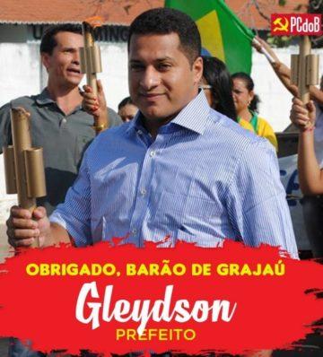 Prefeito de Barão de Grajaú, Gleydson (PCdo B)