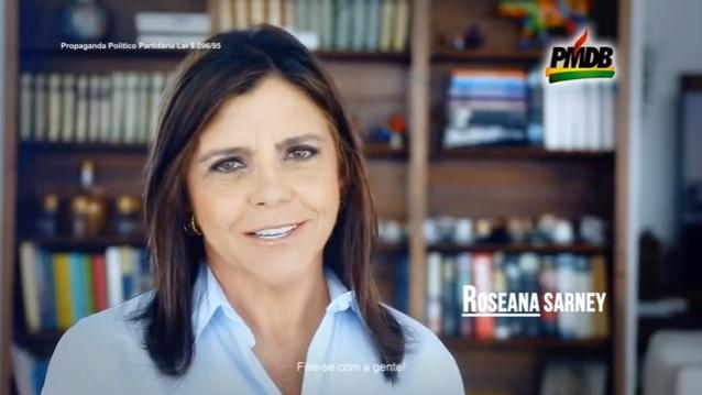 Roseana Sarney na propaganda do PMDB
