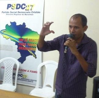 Alan Kardeck, Secretário Estadual do PSDC no Maranhão