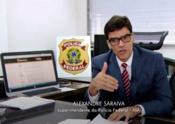 Delegado federal Alexandre Saraiva