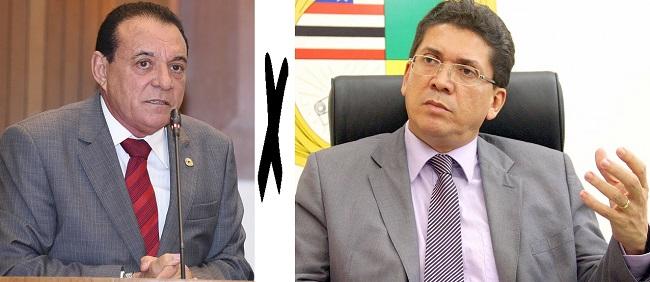 Deputado Raimundo Cutrim e secretário Jefferson Portela