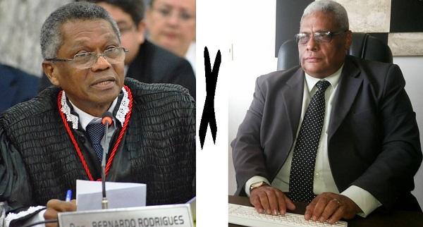 Desembargador José Bernardo Rodrigues e o advogado Mozart Baldez batem boca durante julgamento