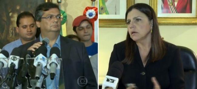 Governos Flávio Dino e Roseana na mesma linha da corrupção em matéria no Fantástico; EM QUEM ACREDITAR?