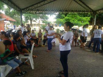 Professores realizam protesto contra Prefeitura de Cedral