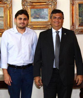 Deputado Juscelino Filho e o governador Flávio Dino