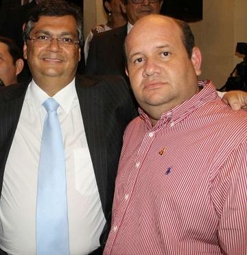 Flávio Dino e Fred Maia