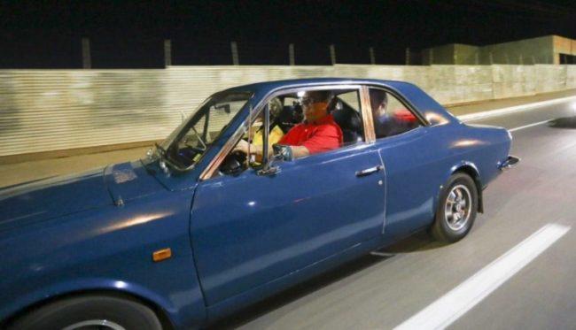 Flávio Dino dirigindo sem cinto de segurança em Imperatriz-MA