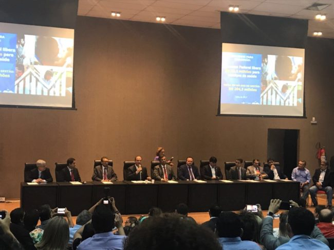 Encontro de políticos e gestores com o ministro da Saúde em São Luís-MA