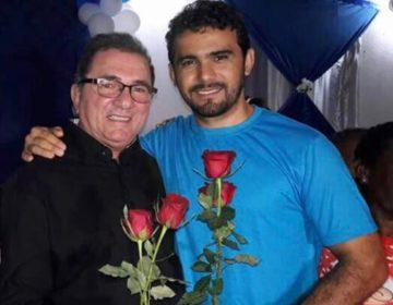 Prefeito Raimundo Antonio e o sobrinho Rony Borges, secretário de Finanças