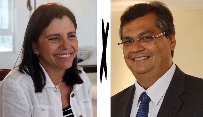 Principais candidatos ao governo do Maranhão: Roseana Sarney e Flávio Dino
