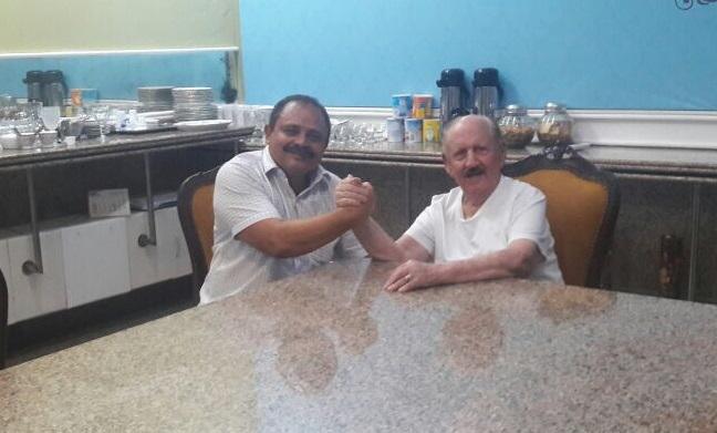 Waldir Maranhão e Zé Vieira em Bacabal