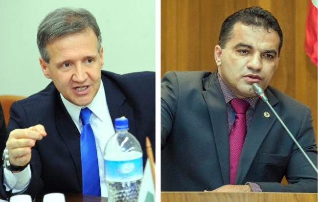 Deputados Aluísio Mendes e Josimar de Maranhãozinho