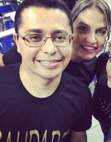Secretário Lula e Alana Coelho