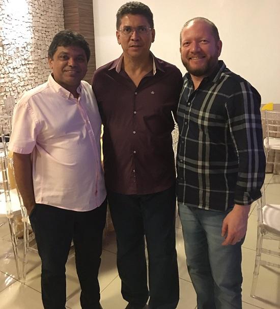 Márcio Jerry, Jefferson Portela e Othelino Neto