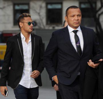 Neymar Jr e Neymar (pai)