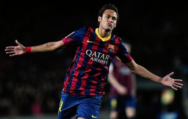 Neymar deixa o Bacelona