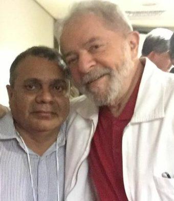 Augusto Lobato e Lula