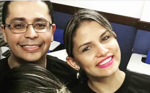 Carlos Lula e Allana Valéria