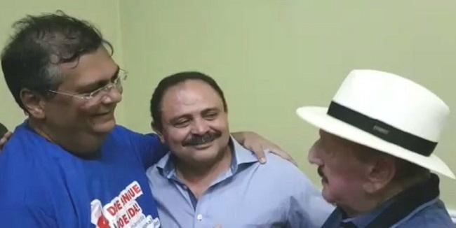 Flávio Dino, Waldir e Zé Vieira