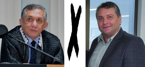 Juiz Sebastião Bonfim e o advogado José Alencar