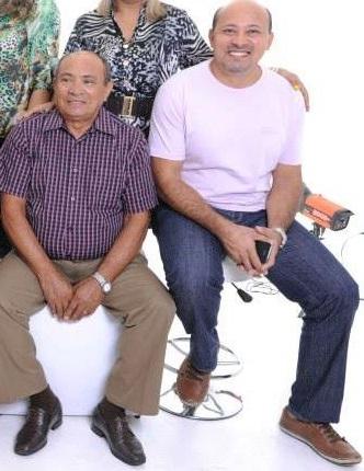 Severino Lima e o filho, juiz José Valterson Lima