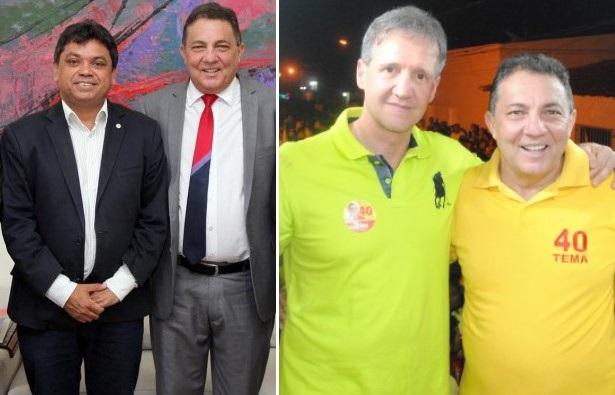 Cleomar Tema em dois momentos: com Márcio Jerry e Aluísio Mendes